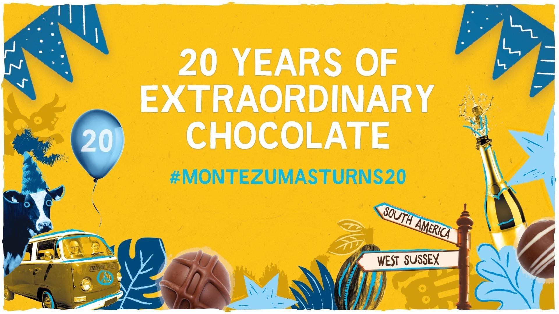 Montezuma's Chocolate Anniversary