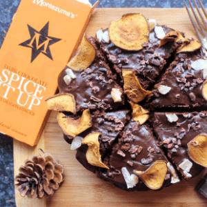 Dark Chocolate, Pear & Ginger Cake