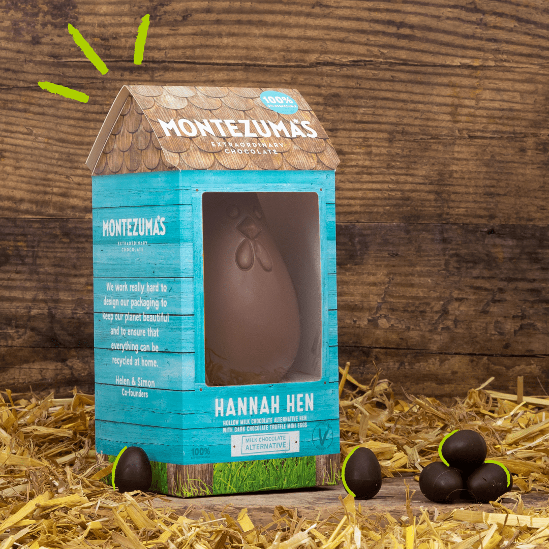 Montezuma's Vegan Easter Eggs