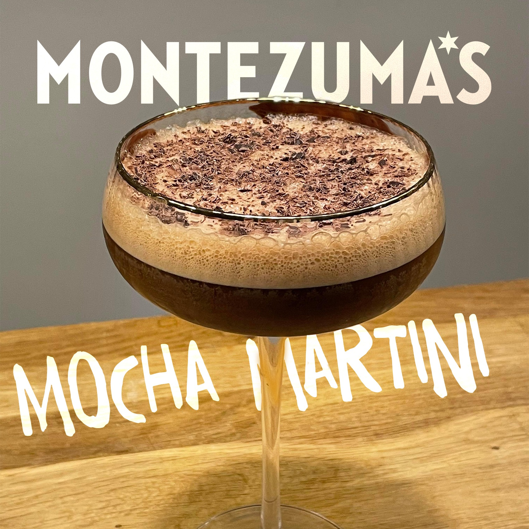 Montezuma's Mocha Martini