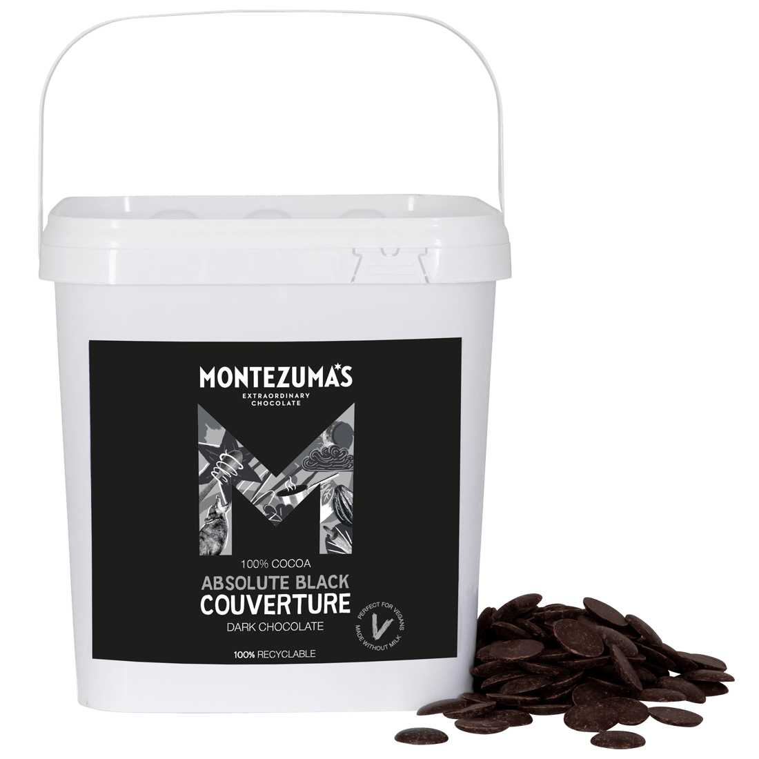 Absolute Black 100% Cocoa Couverture