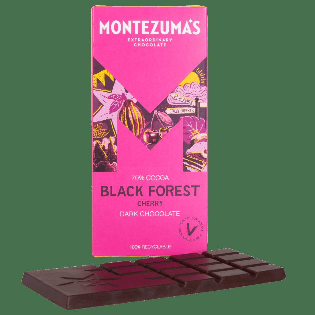 Chocolate Bars Black Forest - Dark Chocolate with Cherry