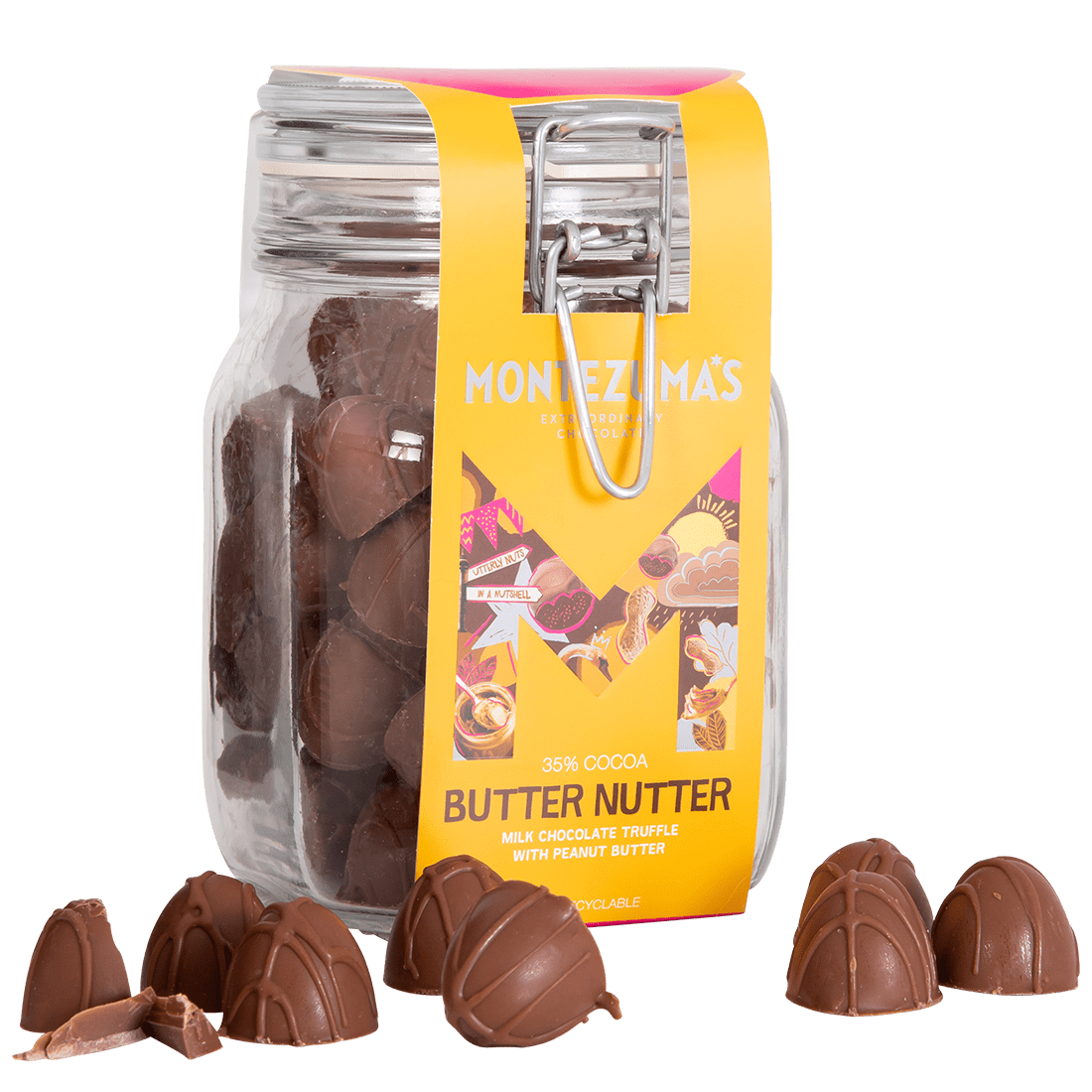 milk chocolate peanut butter truffles