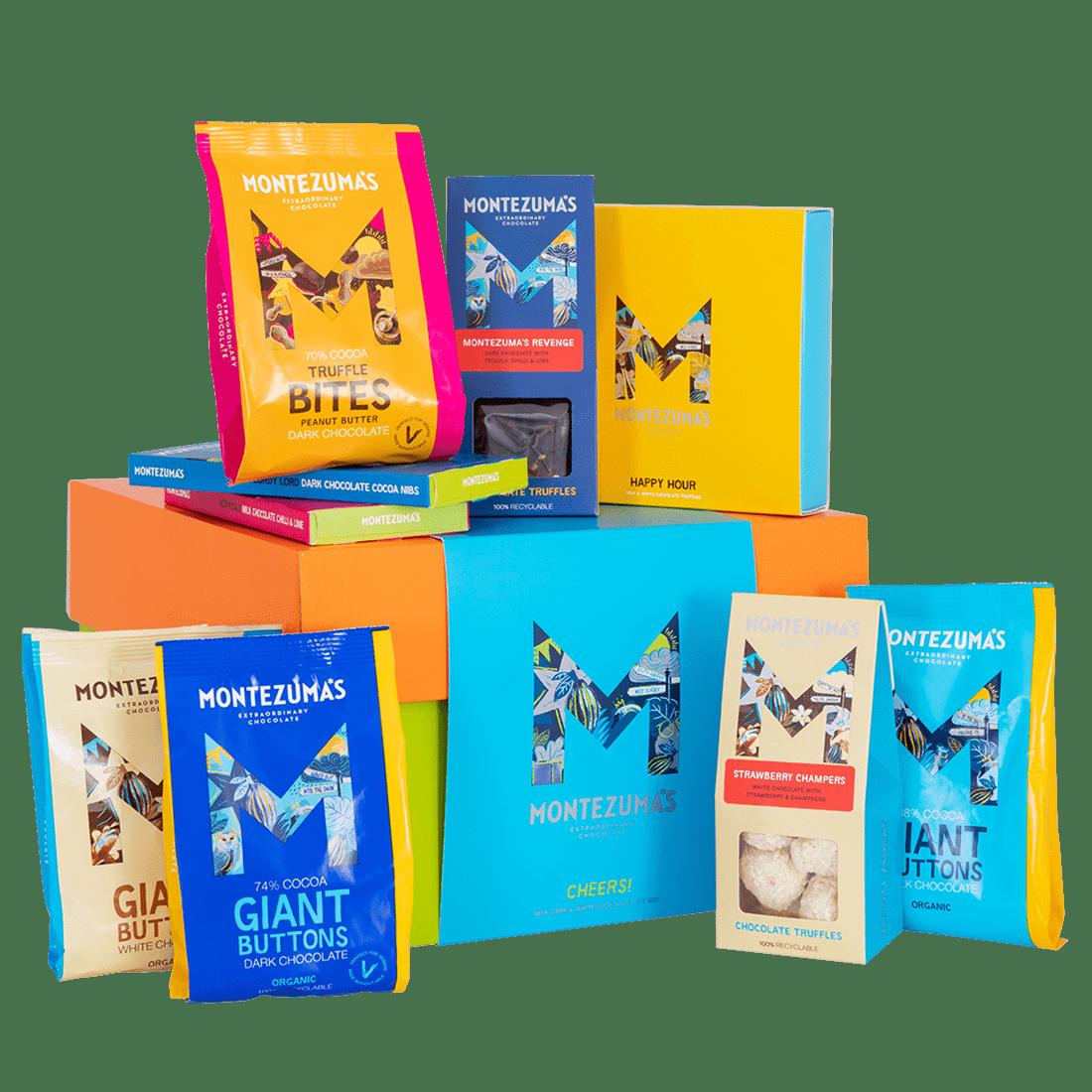 Cheers Gift Box: Alcoholic Truffles & Chocolate Gift Box