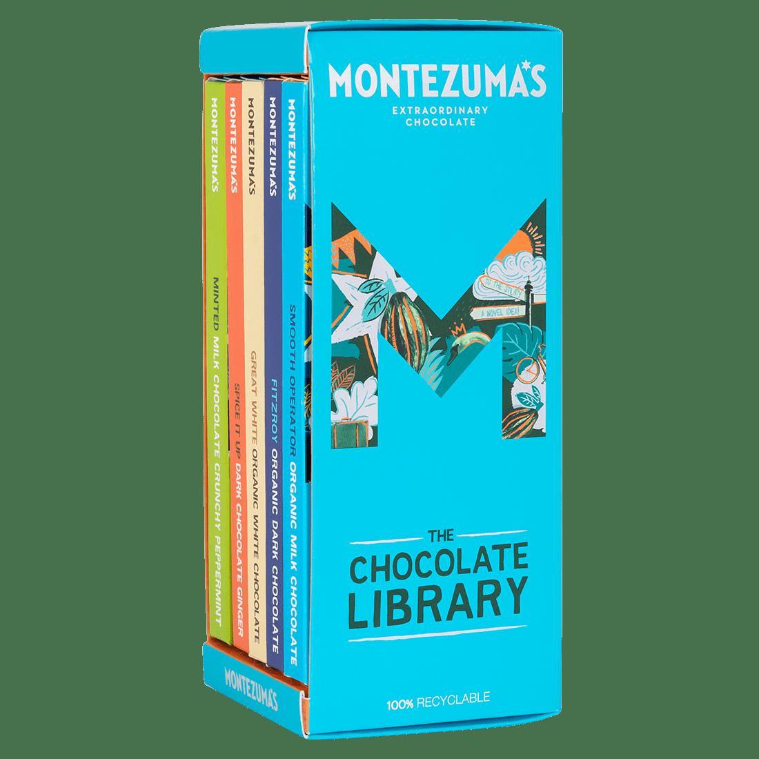 Mixed Chocolate Bar Library