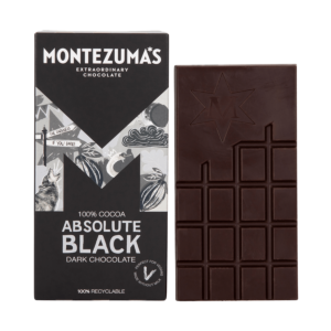 Absolute Black -100% Dark Chocolate Bar