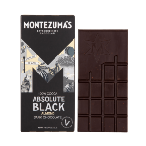 100% Cocoa Absolute Black with Almonds