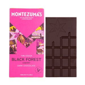 Black forest dark chocolate cherry bar