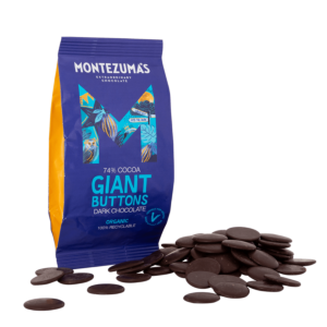Organic Dark 74% Chocolate Giant Buttons