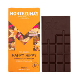 Happy Hippy - Dark Chocolate with Orange and Geranium