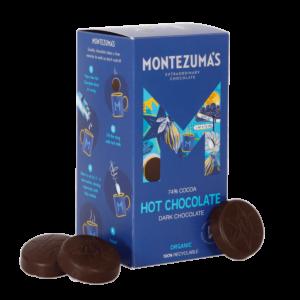 dark chocolate discs for drinking chocolate