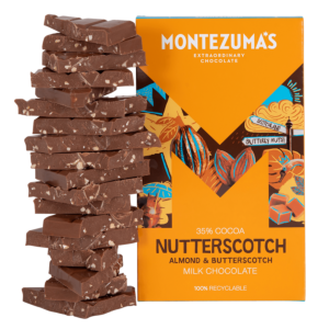 Nutterscotch - Milk Chocolate Almond & Butterscotch 300g Bar