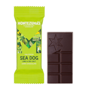 Sea Dog -  Dark Chocolate with Lime & Sea Salt Mini Bars x26