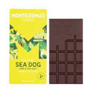 Sea Dog dark chocolate lime & sea salt bar