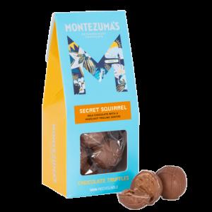 Secret Squirrel - Milk Chocolate Truffle with Hazelnut Praline