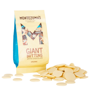 Organic White Chocolate Giant Buttons