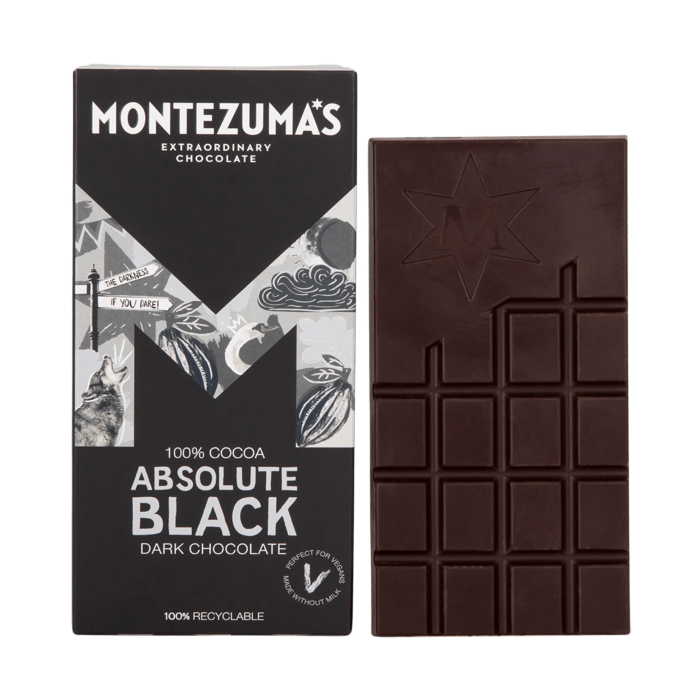 Absolute Black -100% Dark Chocolate Bar
