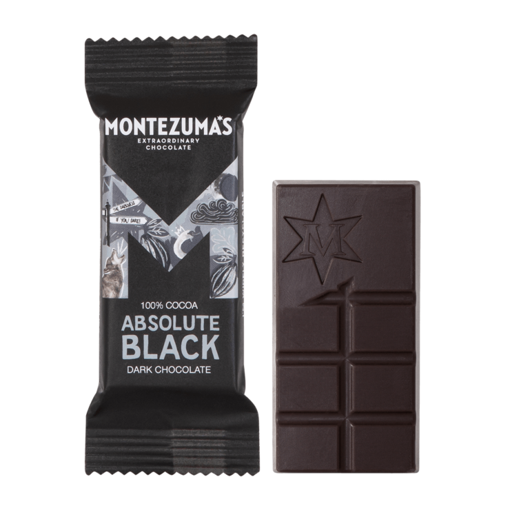 Absolute Black 100% Cocoa Mini Bars x26