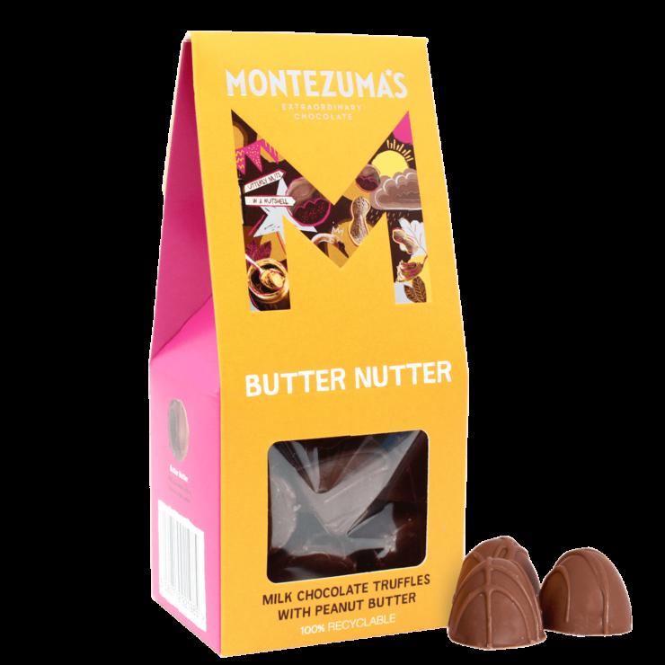 Butter Nutter - Milk Chocolate Truffles with Peanut Butter