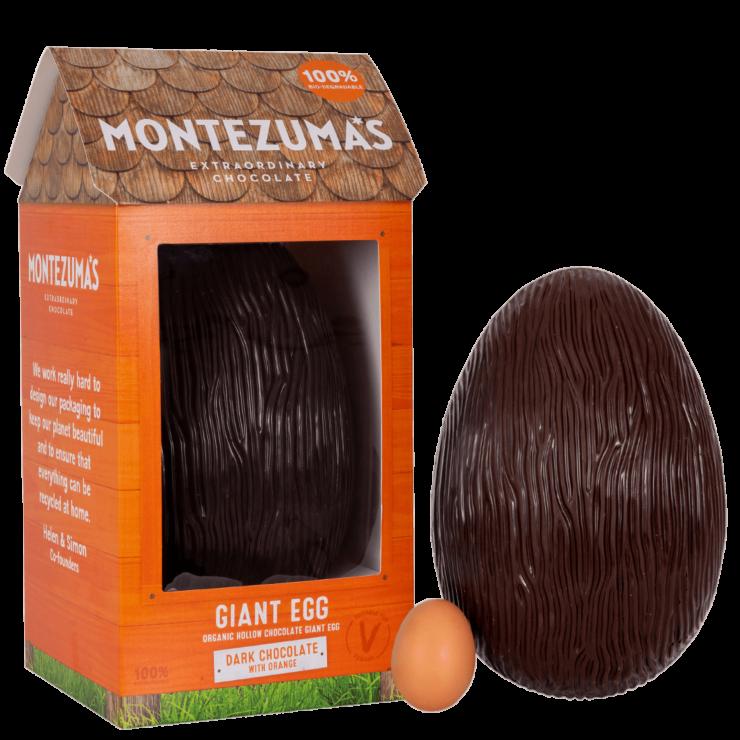 Dark Organic Giant Egg with Orange