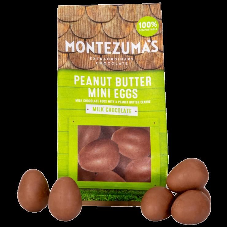 Milk Chocolate Peanut Butter Mini Eggs