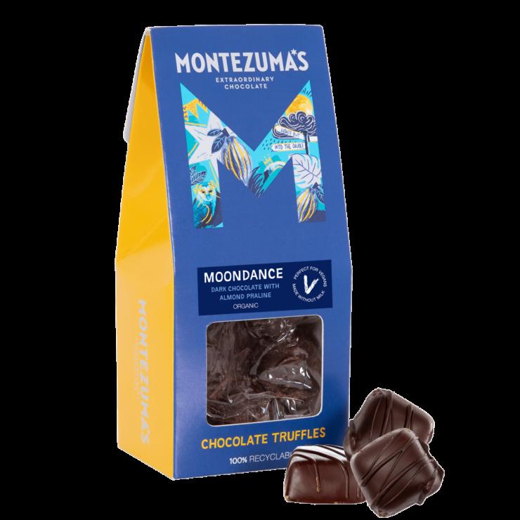 Moondance - Dark Chocolate with Almond Praline Truffles