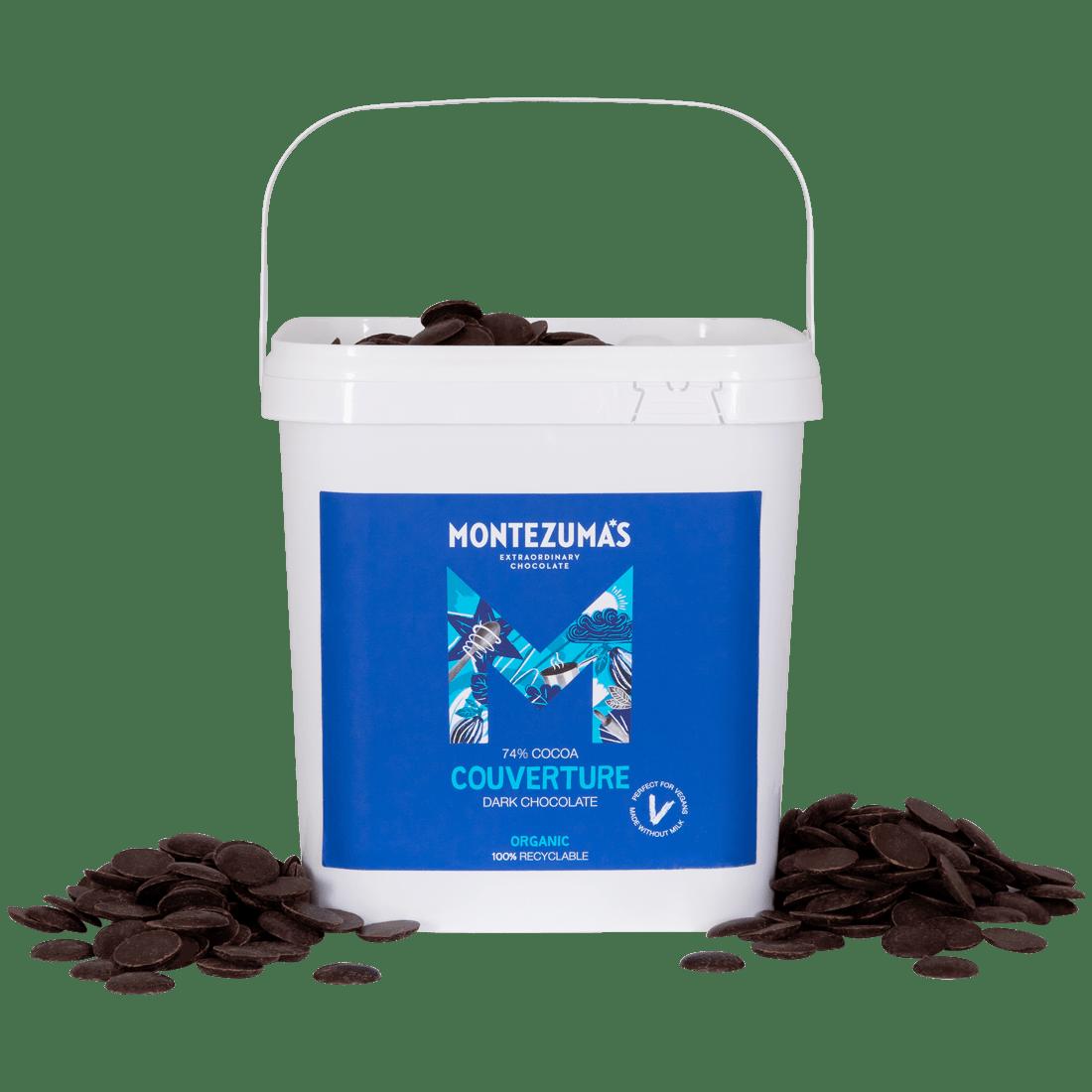Dark Chocolate Organic Couverture