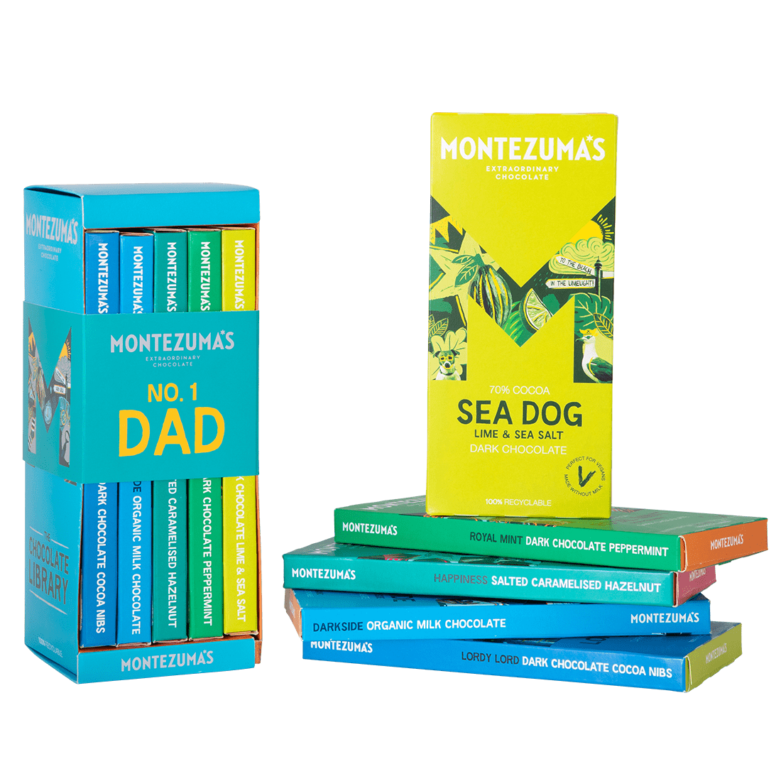 Father's Day Chocolate Bar Gift Set
