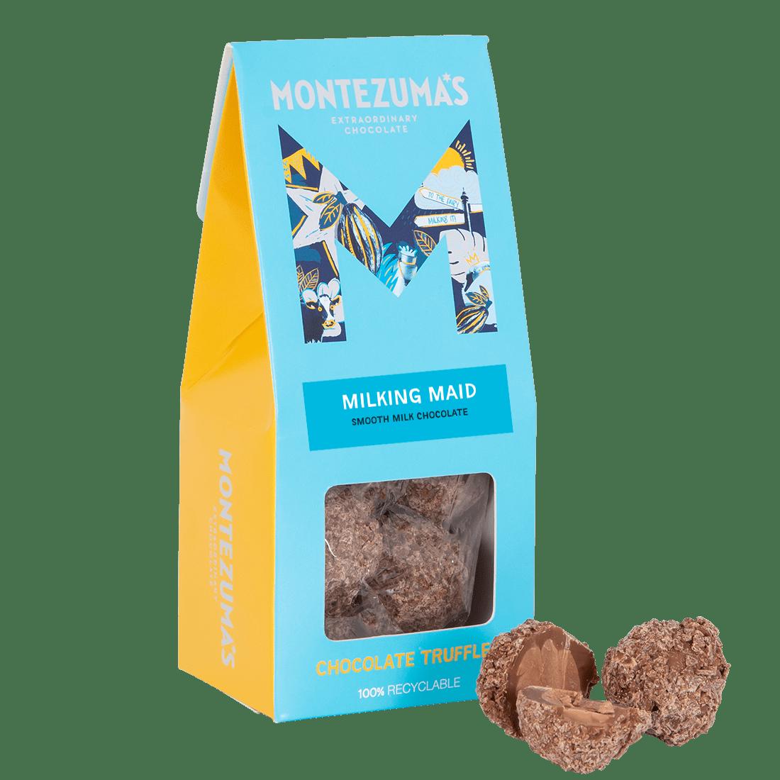 smooth milk chocolate truffles