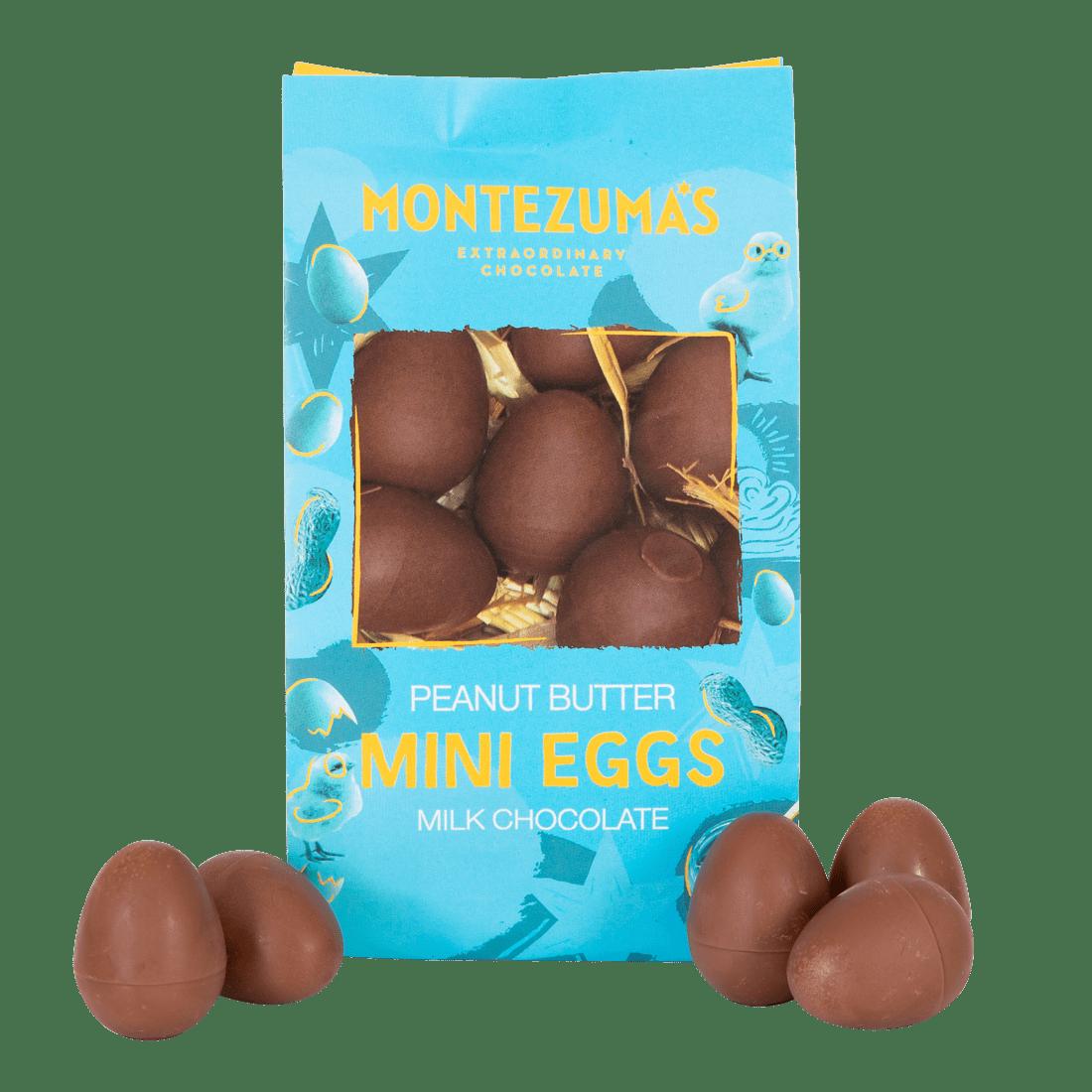 Food Milk Chocolate Peanut Butter Mini Eggs