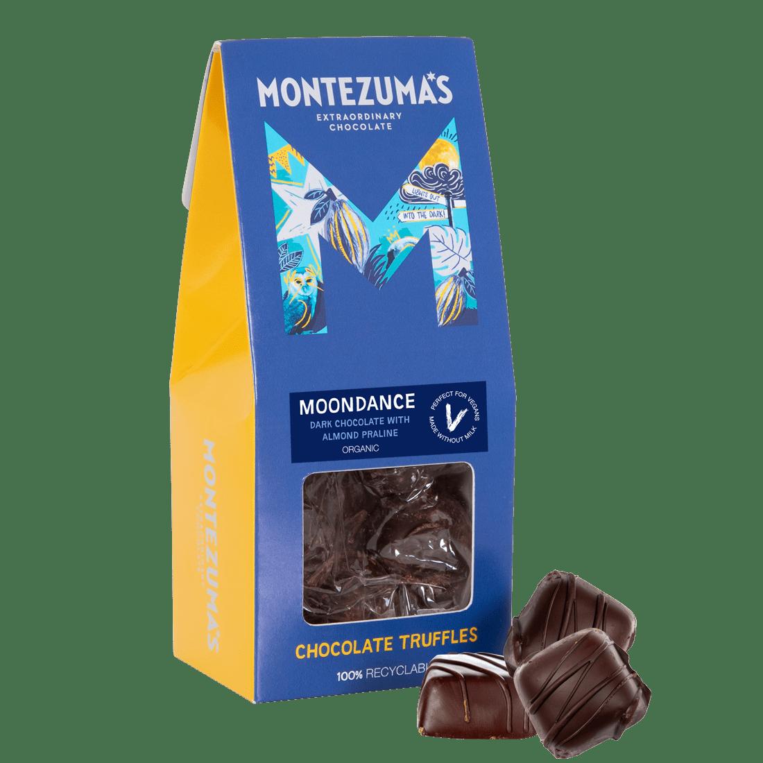 Moondance - Dark Chocolate Truffles with Praline