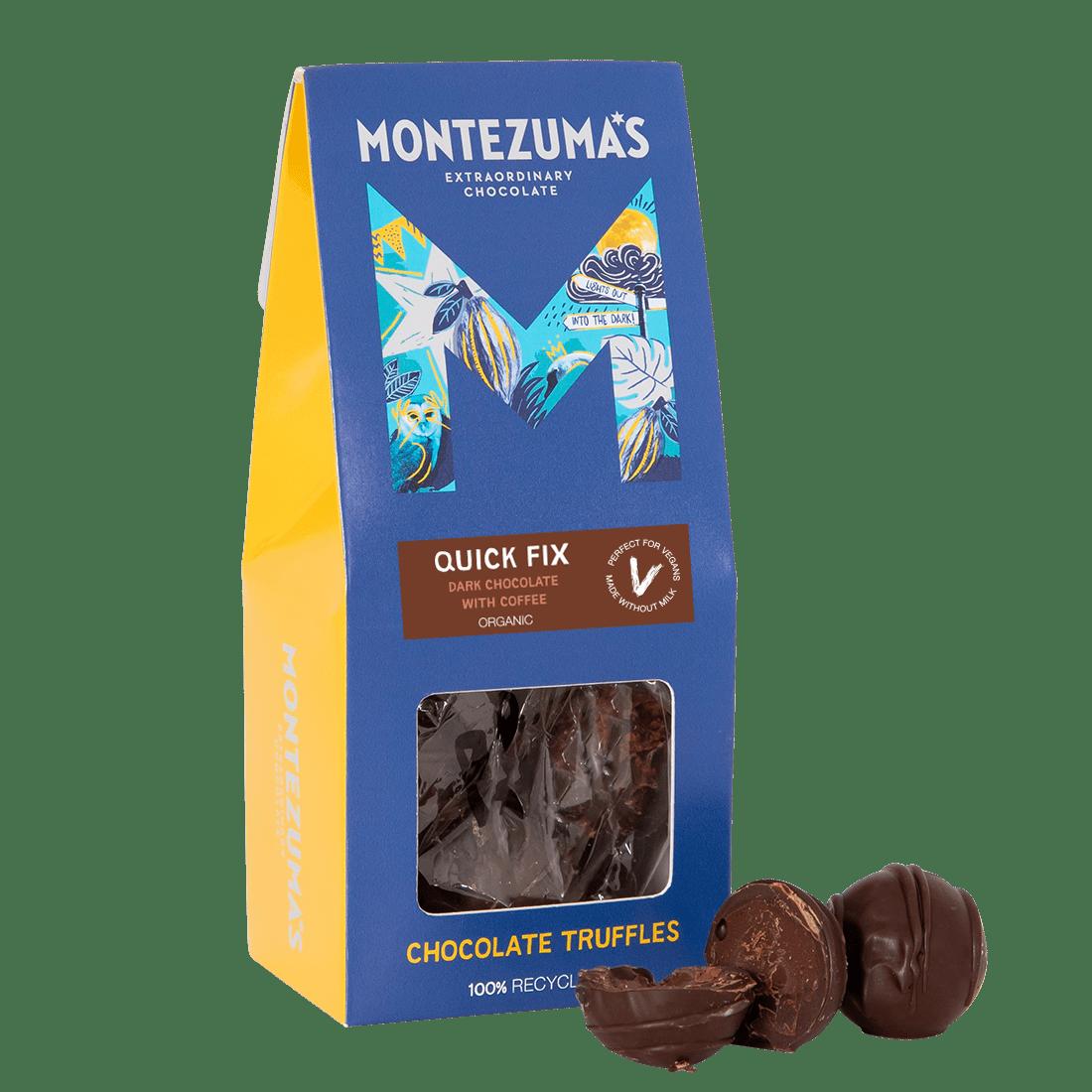 Quick Fix - Organic & Vegan Dark Chocolate Truffles with Coffee