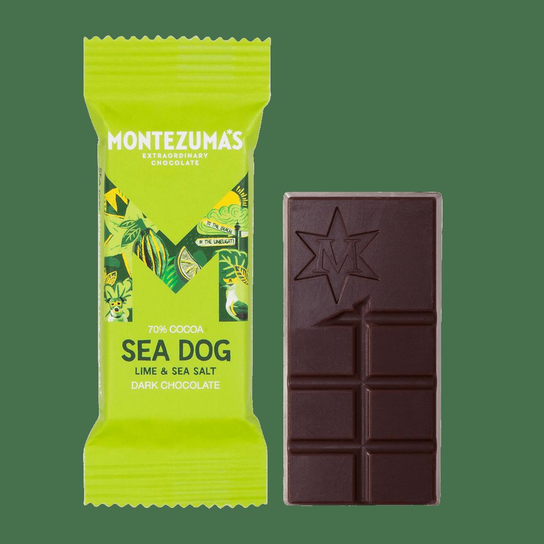 Sea Salt Dark and Seasalt bar - mini 25g