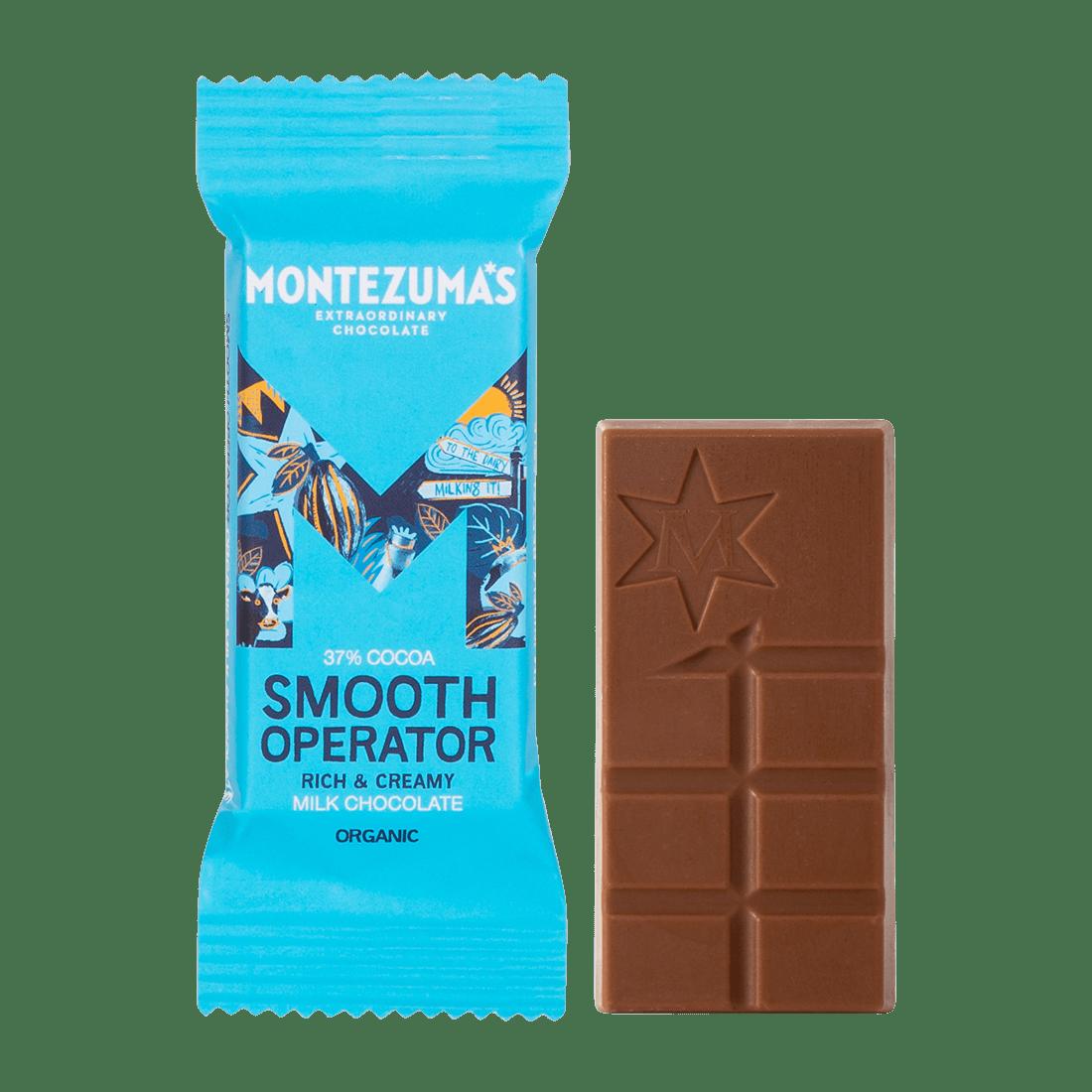 Smooth Operator - Organic Milk Chocolate Mini Bars x26
