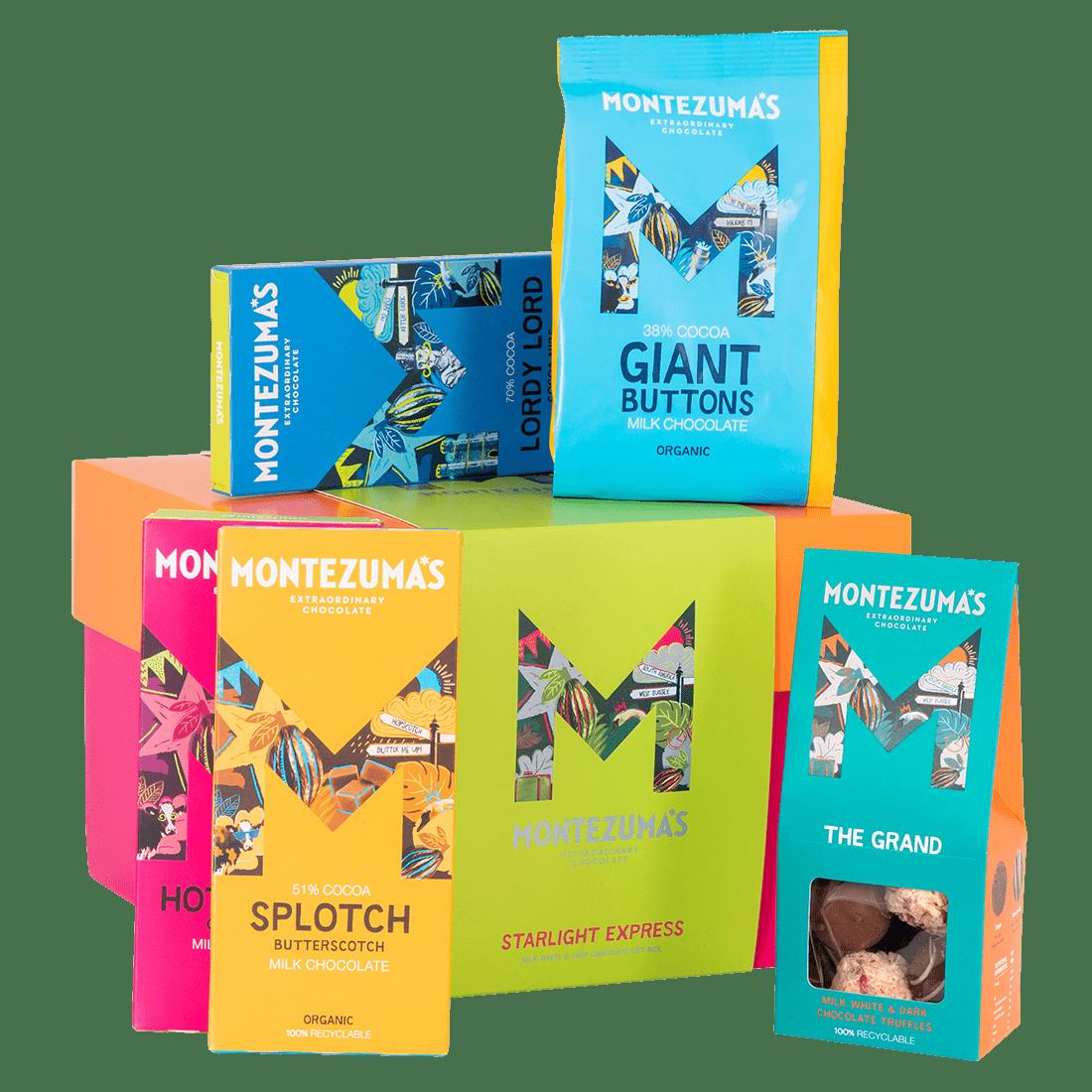 Starlight Express Chocolate Gift Box: Choc Bars & Truffles