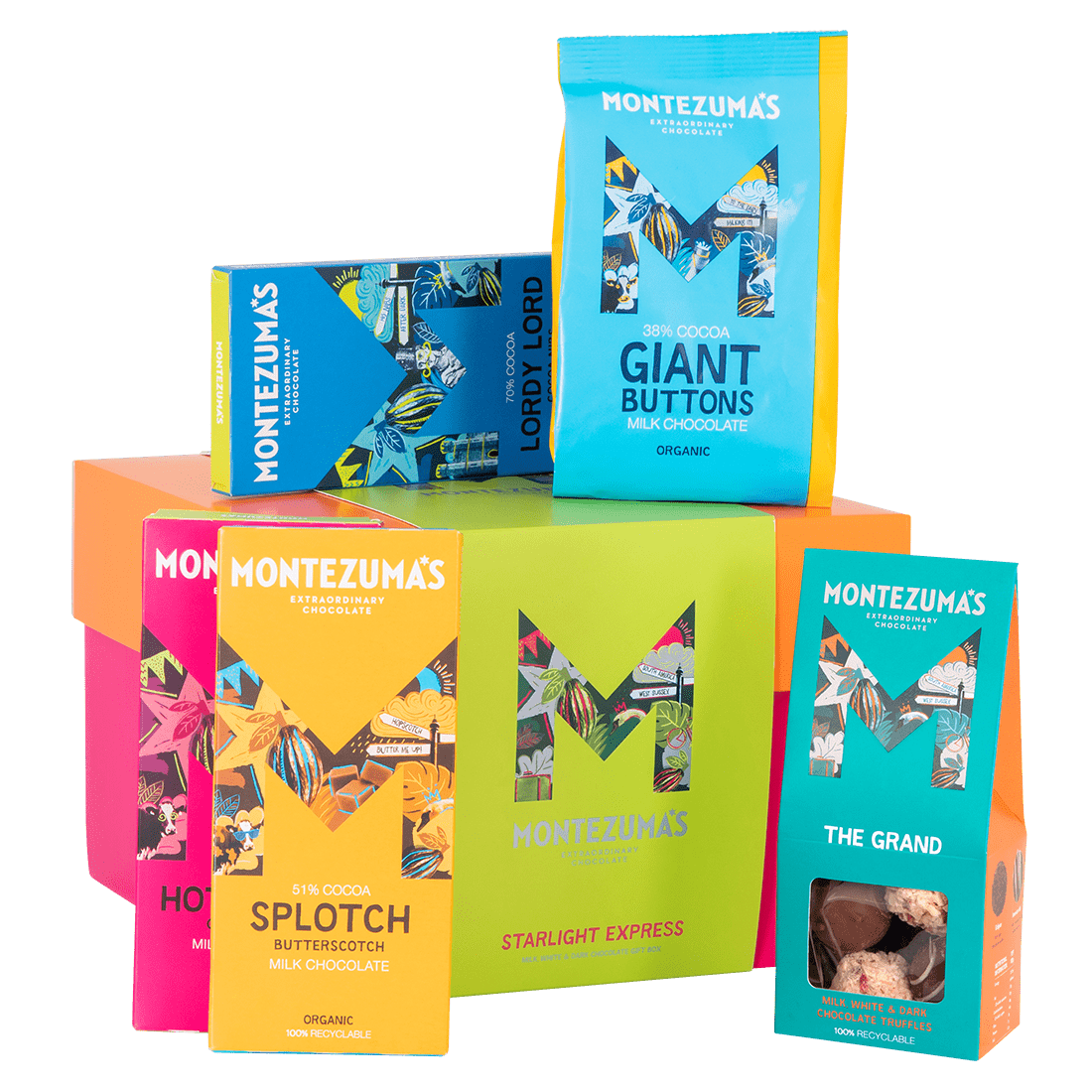 Chocolate Bars Starlight Express Gift Box