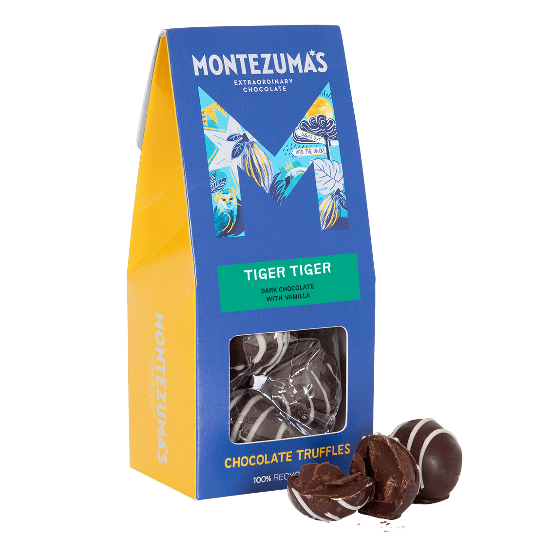 Tiger Tiger - Dark Chocolate Truffles with Vanilla