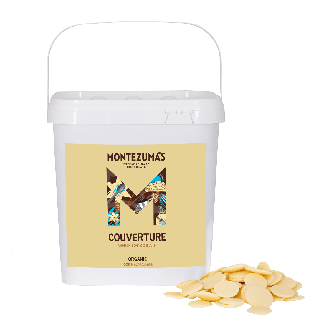 White Chocolate Organic Couverture